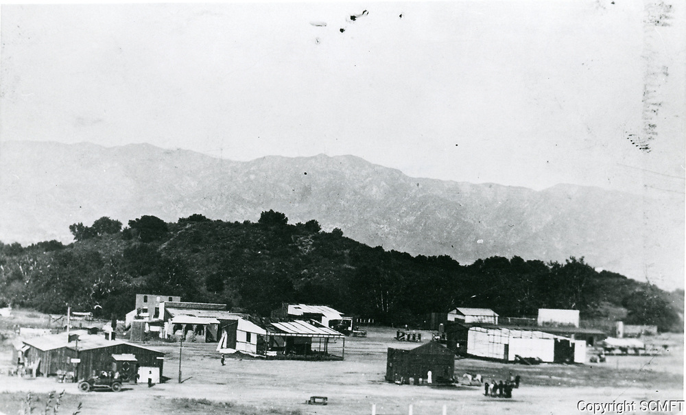 1912 Back lot of Universal Studios