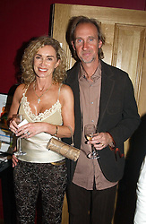 MIKE & ANGIE RUTHERFORD at a party to celebrate the publication of Paul McKenna's new book 'I Can Make You Thin' held at the Soho Hotel, 4 Richmond Mews, London W1 on 8th March 2005.<br /><br />NON EXCLUSIVE - WORLD RIGHTS