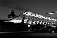 A building at Dulles International airport