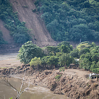 Mountains are striped with landslides across a broad swathe of Honduras after extremely heavy rains from hurricanes Eta and Iota overloaded the soil with water.
