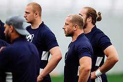 Max Lahiff looks on as Bristol Bears start to use their new almost completed Training centre - Rogan/JMP - 08/07/2020 - RUGBY UNION - Beggar Bush Lane - Bristol, England.