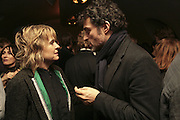 Sinead Cusack and Rufus Sewell, Party to launch High Tide Writers Festival which will be held in Halesworth, Suffolk. Adam St. Club. 10 January 2007.  -DO NOT ARCHIVE-© Copyright Photograph by Dafydd Jones. 248 Clapham Rd. London SW9 0PZ. Tel 0207 820 0771. www.dafjones.com.