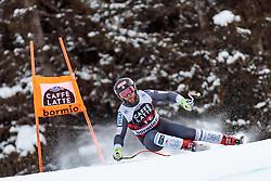 28.12.2017, Stelvio, Bormio, ITA, FIS Weltcup, Ski Alpin, Abfahrt, Herren, im Bild Travis Ganong (USA) // Travis Ganong of the USA in action during mens Downhill of the FIS Ski Alpine Worldcup at the Stelvio course, Bormio, Italy on 2017/12/28. EXPA Pictures © 2012, PhotoCredit: EXPA/ Johann Groder