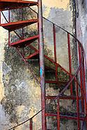 Stairs in Manzanillo, Granma, Cuba.