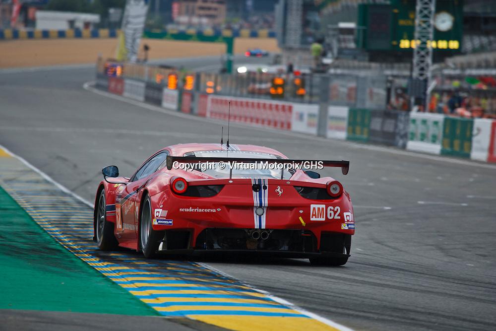 #62 Ferrari 458 Italia, Scuderia Corsa, Townsend Bell, Jeffrey Segal, William Sweedler, Le Mans 24H 2015