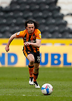 Hull City's George Honeyman chases a pass<br /> <br /> Photographer Lee Parker/CameraSport<br /> <br /> The EFL Sky Bet League One - Hull City v Oxford United - Saturday 13th March 2021 - KCOM Stadium - Kingston upon Hull<br /> <br /> World Copyright © 2021 CameraSport. All rights reserved. 43 Linden Ave. Countesthorpe. Leicester. England. LE8 5PG - Tel: +44 (0) 116 277 4147 - admin@camerasport.com - www.camerasport.com