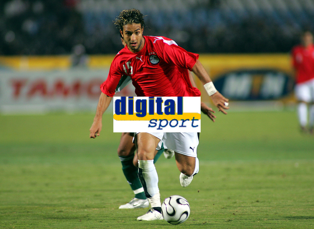 Mido<br />Egypt 2005/06<br />25th MTN Africa Cup Of Nations Egypt 2006<br />Egypt Libya 20/01/06<br />Photo Robin Parker Fotosports International