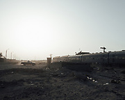 The level crossing at El Alamein.