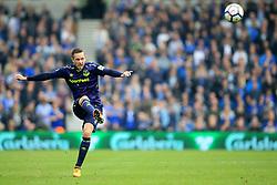 15 October 2017 -  Premier League - Brighton and Hove Albion v Everton - Gylfi Sigurdsson of Everton takes a free kick - Photo: Marc Atkins/Offside