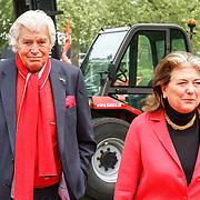 NLD/Amsterdam/20150522 - Prinses Beatrix opent Art Zuid 2015, Cor van Zadelhoff en partner Jeanet