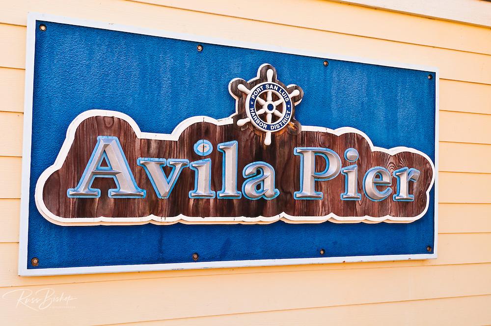 The Avila Pier, Avila Beach, California USA