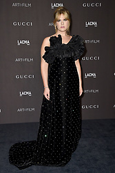 Hari Nef attends the 2018 LACMA Art + Film Gala at LACMA on November 3, 2018 in Los Angeles, CA, USA. Photo by Lionel Hahn/ABACAPRESS.COM