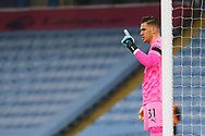 Manchester City goalkeeper Ederson (31) during the Premier League match between Manchester City and Burnley at the Etihad Stadium, Manchester, England on 28 November 2020.
