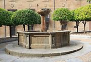 Fuente del Cabildo historic water fountain Plasencia, Caceres province, Extremadura, Spain
