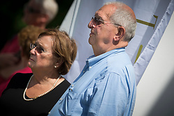 Buchmann Jacky and Withages Mariette (BEL)<br /> Grand Prix - CDI Kapellen 2014<br /> © Dirk Caremans