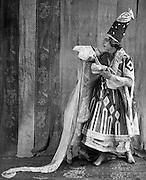 Tamara Karsavina as Thamar and Adolph Bolm as the Prince in Thamar, London, England, 1912
