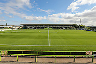 The New Lawn, home of Forest Green Rovers during the Vanarama National League match between Forest Green Rovers and Bromley FC at the New Lawn, Forest Green, United Kingdom on 17 September 2016. Photo by Shane Healey.