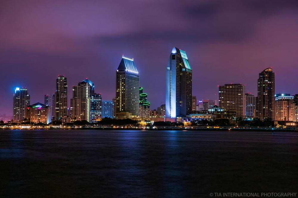 SD Skyline @ Night