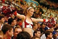◊Copyright:<br />GEPA pictures<br />◊Photographer:<br />Franz Gruber<br />◊Name:<br />Chearleader<br />◊Rubric:<br />Sport<br />◊Type:<br />Eishockey<br />◊Event:<br />IIHF WM 2005, Russland vs Weissrussland, RUS vs BLR<br />◊Site:<br />Wien, Austria<br />◊Date:<br />04/05/05<br />◊Description:<br />Chearleader, Fans<br />◊Archive:<br />DCSFG-0405054223<br />◊RegDate:<br />05.05.2005<br />◊Note:<br />9 MB - DM/DM - Nutzungshinweis: Es gelten unsere Allgemeinen Geschaeftsbedingungen (AGB) bzw. Sondervereinbarungen in schriftlicher Form. Die AGB finden Sie auf www.GEPA-pictures.com.<br />Use of picture only according to written agreements or to our business terms as shown on our website www.GEPA-pictures.com