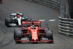 May 26, 2019 - Monte Carlo, Monaco - xa9; Photo4 / LaPresse.26/05/2019 Monte Carlo, Monaco.Sport .Grand Prix Formula One Monaco 2019.In the pic: Sebastian Vettel (GER) Scuderia Ferrari SF90, Valtteri Bottas (FIN) Mercedes AMG F1 W10 (Credit Image: © Photo4/Lapresse via ZUMA Press)