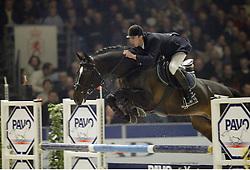 Van Asten Mathijs-No Limit<br />KWPN hengstenkeuring 2003<br />Photo © Dirk Caremans