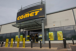 © Licensed to London News Pictures. 19/11/2012. Reading, UK. The sales continue at Comet after the company went into administration on November 2nd. Photo credit : Rebecca Mckevitt/LNP
