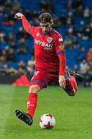 CD Numancia Marc Mateu during King's Cup match between Real Madrid and CD Numancia at Santiago Bernabeu Stadium in Madrid, Spain. January 10, 2018. (ALTERPHOTOS/Borja B.Hojas)