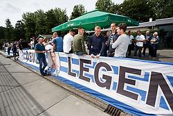 public overview during friendly match XerxesDZB v Excelsior during the friendly match between XerxesDZB and Excelsior Rotterdam at Sportpark Faas Wilkes on july 15, 2017 in Rotterdam, the Netherlands