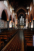 Interior of St George's Cathedral, Perth, Western Australia