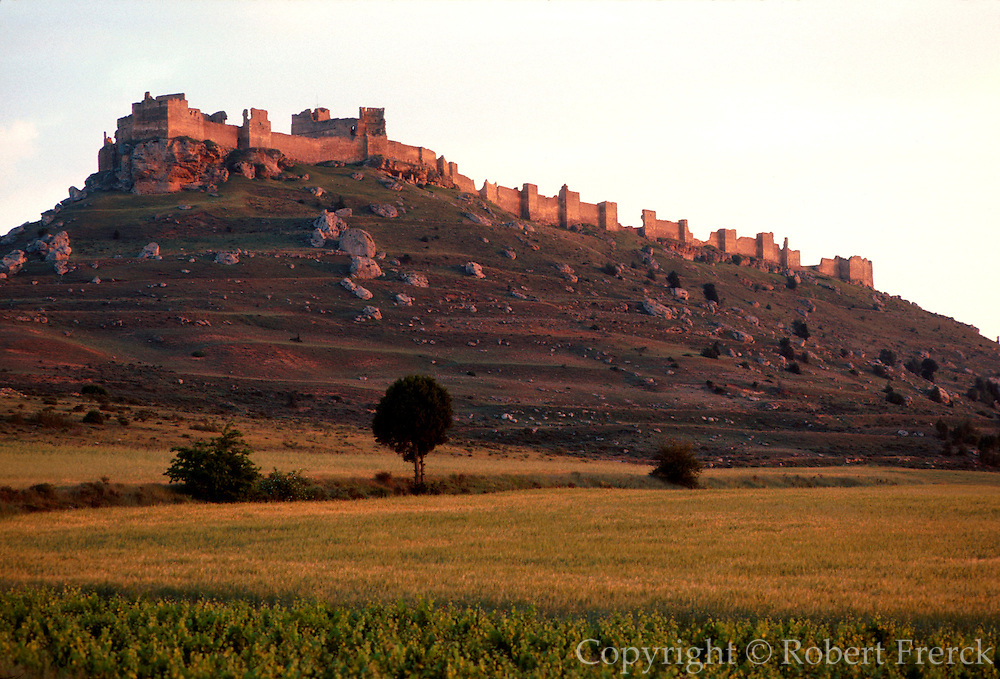 SPAIN, CASTILE  and amp; LEON Gormaz Castle, Muslim near Soria