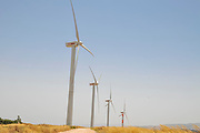 This wind farm project on Mount Gilboa, Israel  contains 25 wind turbines with a capacity of KW850 each, and connecting them to the overall network. This was part of a unique project which also included the construction of a visitor's center named in honor of the late Solomon Schmelzer.