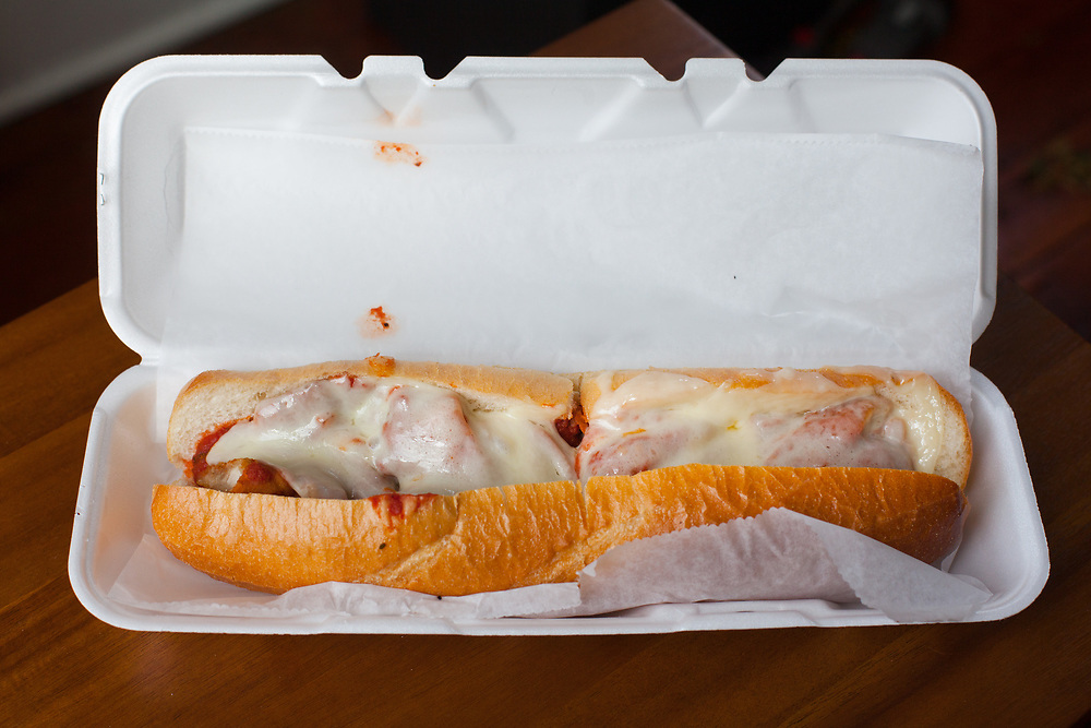 Chicken Parm Sandwich from Key Pizza ($8.10)