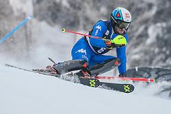 Stefano Gross (ITA) during 1st run of Men's Slalom race of FIS Alpine Ski World Cup 57th Vitranc Cup 2018, on March 4, 2018 in Kranjska Gora, Slovenia. Photo by Ziga Zupan / Sportida