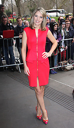CHARLOTTE HAWKINS attends the 2014 TRIC Awards at The Grosvenor House Hotel, London, United Kingdom. Tuesday, 11th March 2014. Picture by i-Images