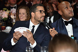 David Blaine performs a magic trick at the Boodles Boxing Ball, in association with Argentex and YouTube in Support of Hope and Homes for Children at Old Billingsgate London, United Kingdom - 7 Jun 2019 Photo Dominic O'Neil