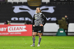 Ospreys' Jeff Hassler<br /> <br /> Photographer Craig Thomas/Replay Images<br /> <br /> EPCR Champions Cup Round 4 - Ospreys v Northampton Saints - Sunday 17th December 2017 - Parc y Scarlets - Llanelli<br /> <br /> World Copyright © 2017 Replay Images. All rights reserved. info@replayimages.co.uk - www.replayimages.co.uk