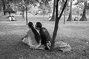A morning at the MahaBandoola Park.<br /> Yangon, Myanmar 2014