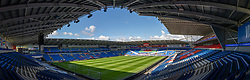 CARDIFF, WALES - Sunday, September 6, 2020: A general view of the Cardiff City Stadium before the UEFA Nations League Group Stage League B Group 4 match between Wales and Bulgaria. (Pic by David Rawcliffe/Propaganda)