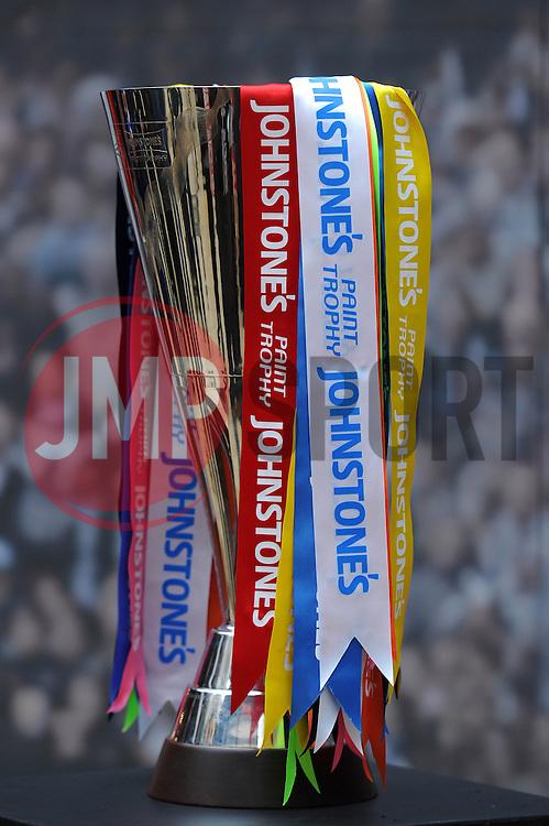 The Johnstone Paint trophy  - Photo mandatory by-line: Dougie Allward/JMP - Mobile: 07966 386802 - 11/03/2015 - SPORT - Football - Bristol - Cabot Circus Shopping Centre - Johnstone's Paint Trophy