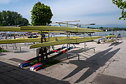Plovdiv, Bulgaria, 9th May 2019, FISA, Rowing World Cup 1,