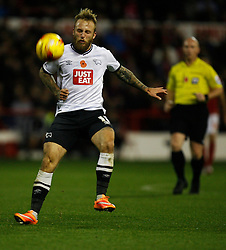 Johnny Russell of Derby County in action - Mandatory byline: Jack Phillips / JMP - 07966386802 - 6/11/2015 - FOOTBALL - The City Ground - Nottingham, Nottinghamshire - Nottingham Forest v Derby County - Sky Bet Championship