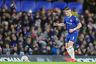 Chelsea midfielder Ross Barkley (8) during the The FA Cup fourth round match between Chelsea and Sheffield Wednesday at Stamford Bridge, London, England on 27 January 2019.