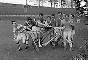 Kerry hurlers during a training session in Fitzgerald Stadium in the 1950's.<br /> Photo: Daniel MacMonagle - macmonagle.com archive<br /> Killarney Now & Then - MacMONAGLE photo archives.<br /> Picture by Don MacMonagle -macmonagle.com