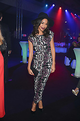 SARAH-JANE CRAWFORD at a party to celebrate the 1st birthday of nightclub 2&8 at Mortons held in Berkeley Square, London on 3rd October 2013.