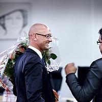 Nederland, Amsterdam , 16 oktober 2012..Tjeerd Herrema de nieuwe stadsdeelvoorzitter van Zuidoost..Foto:Jean-Pierre Jans