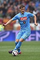 Manolo Gabbiadini Napoli <br /> Roma 04-04-2015 Stadio Olimpico, Football Calcio Serie A AS Roma - Napoli Foto Andrea Staccioli / Insidefoto