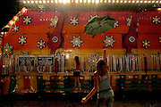 At the Curry County Fair on Thursday, August 17, 2006.