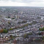 NLD/Rotterdam/20120427 - Overzicht Rotterdam centrum