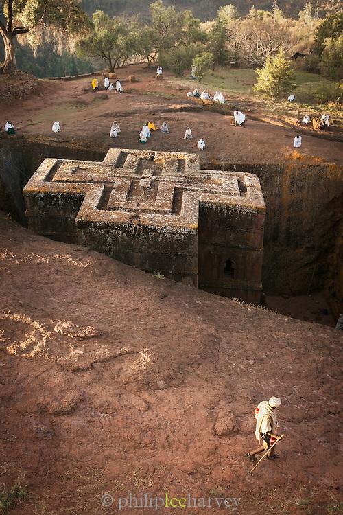 Church of St. George, Lalibela, Ethiopia