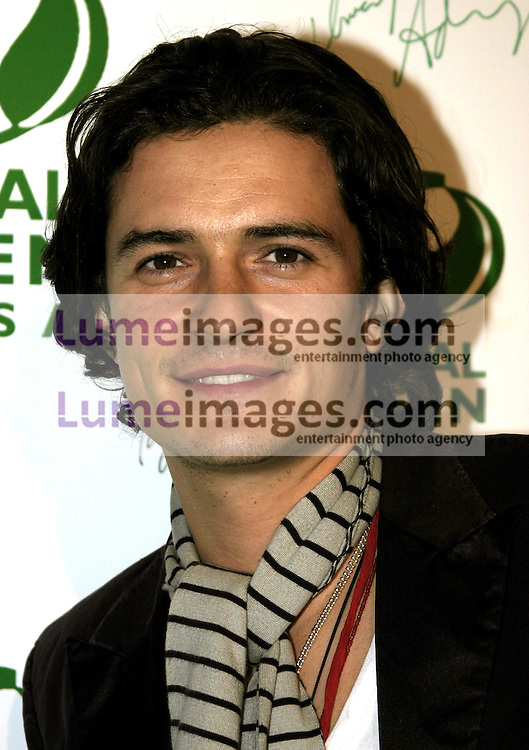 Orlando Bloom at the Global Green Pre-Oscar Party held at the Day After Club in Hollywood, USA on February 24, 2005.